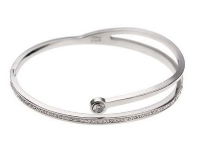 Dames bangle armband split